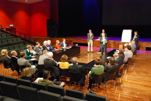 Een van de sessies in 2013